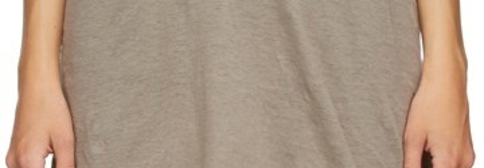 T-shirt - Cotton - Oyster - Sz 42
