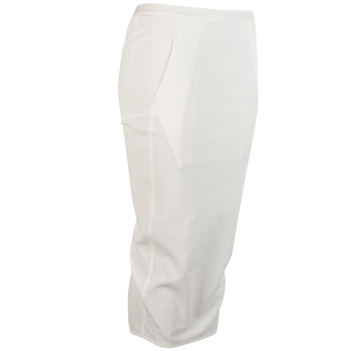 Back Split Skirt - Chalk White - Sz 44-1
