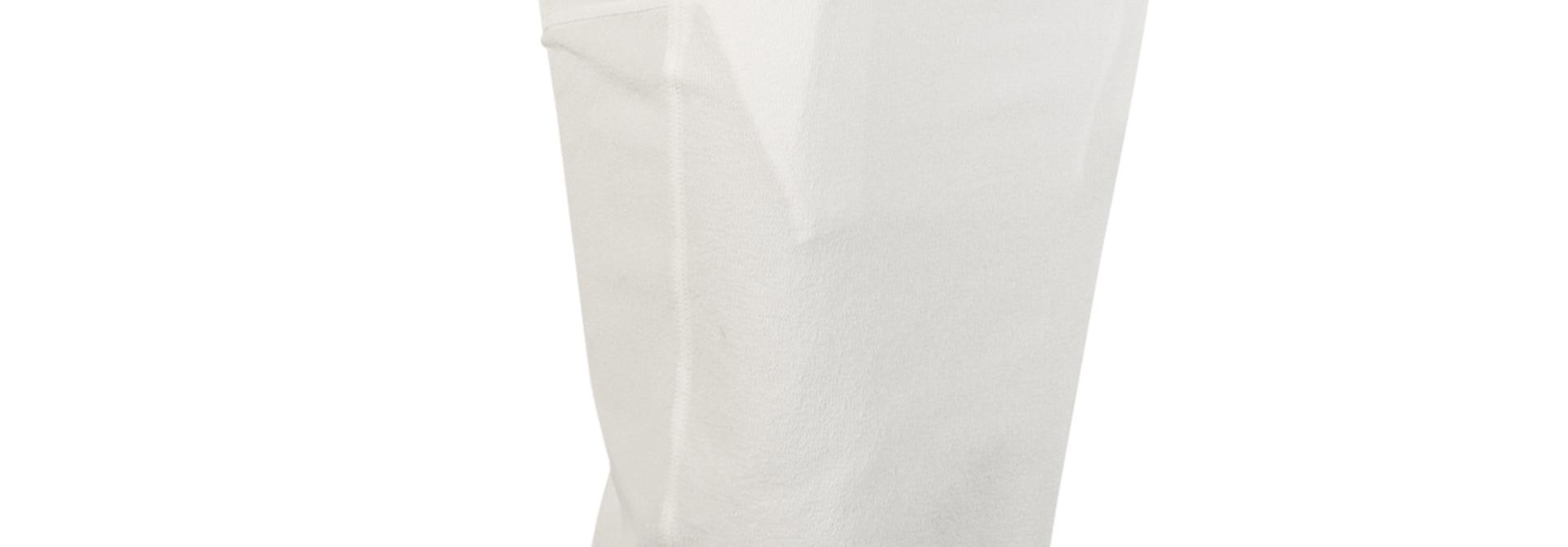 Back Split Skirt - Chalk White - Sz 42