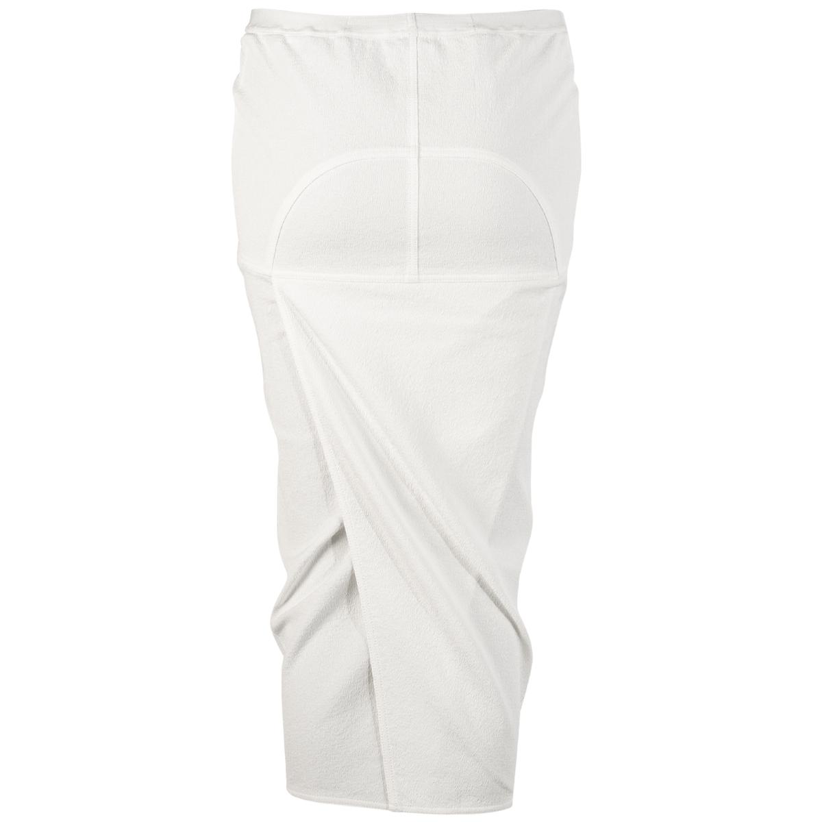 Back Split Skirt - Chalk White - Sz 42-2