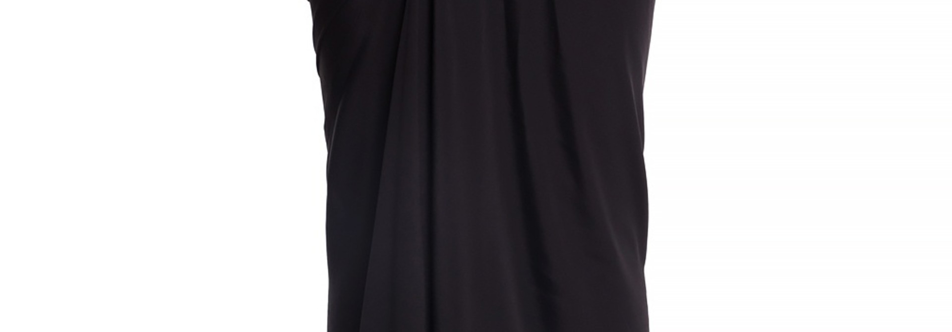 Skirt - Ruched - Black - Sz 40