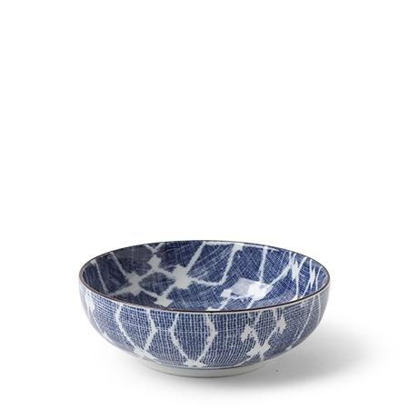 Aizome Hishi - Shallow Bowl-1