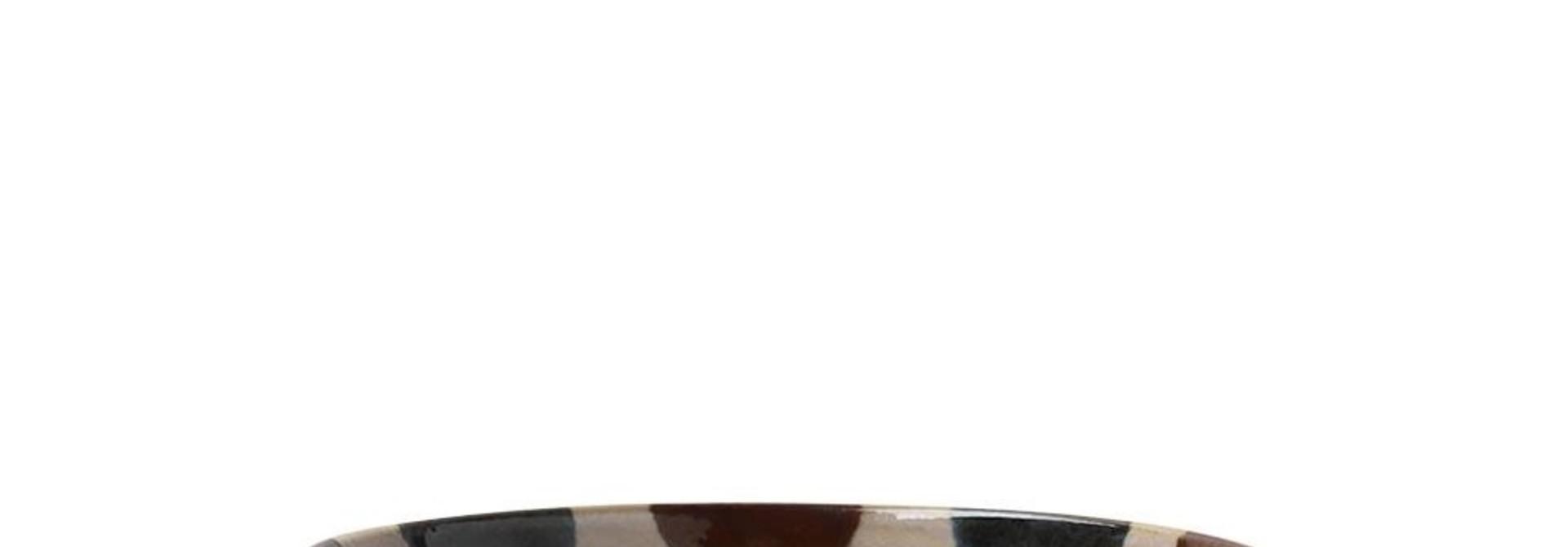 Rustic Dots - Shallow Bowl