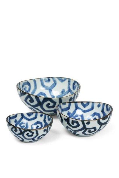 Uzu Karakusa Nested Bowl - Set of 3