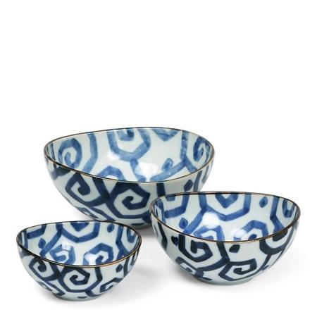 Uzu Karakusa Nested Bowl - Set of 3-1