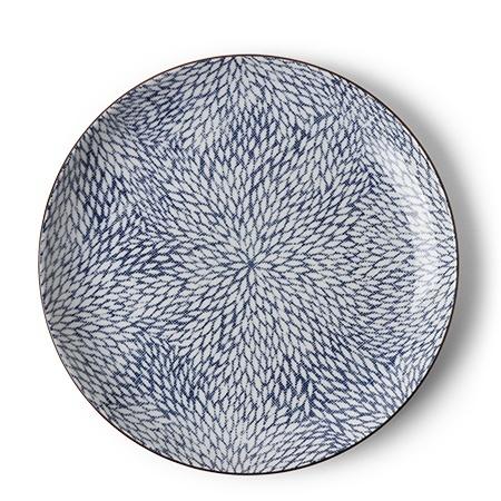 Aizome Mums -  Dinner Plate-1
