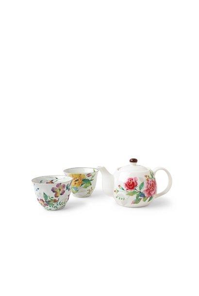 Spring Floral Tea Set