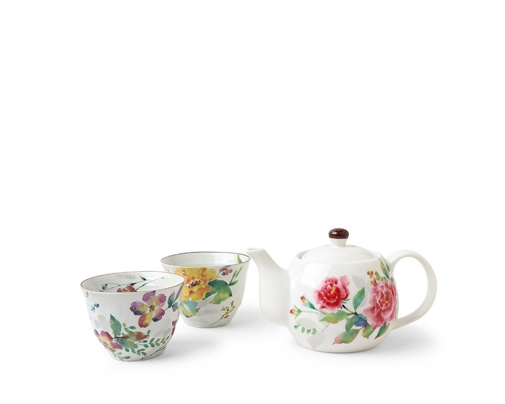 Spring Floral Tea Set-1