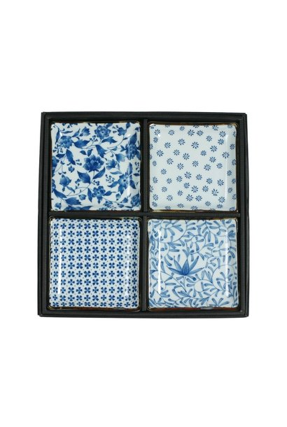 Blue & White - Plate Set