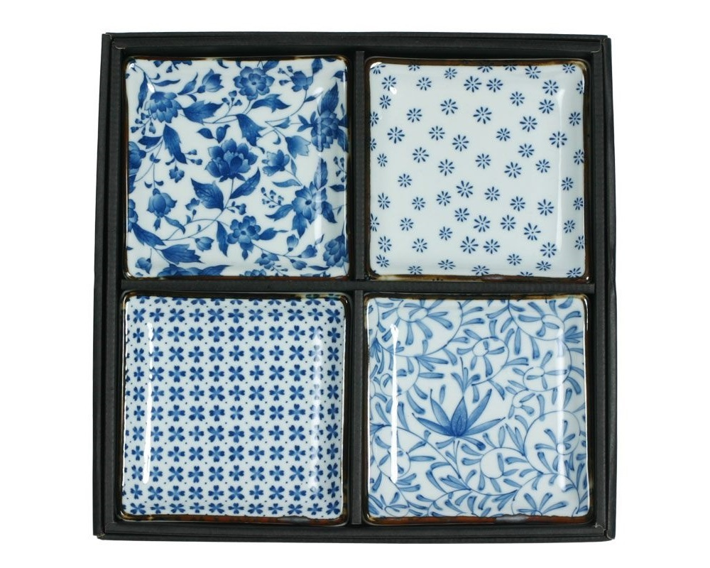 Blue & White - Plate Set-1