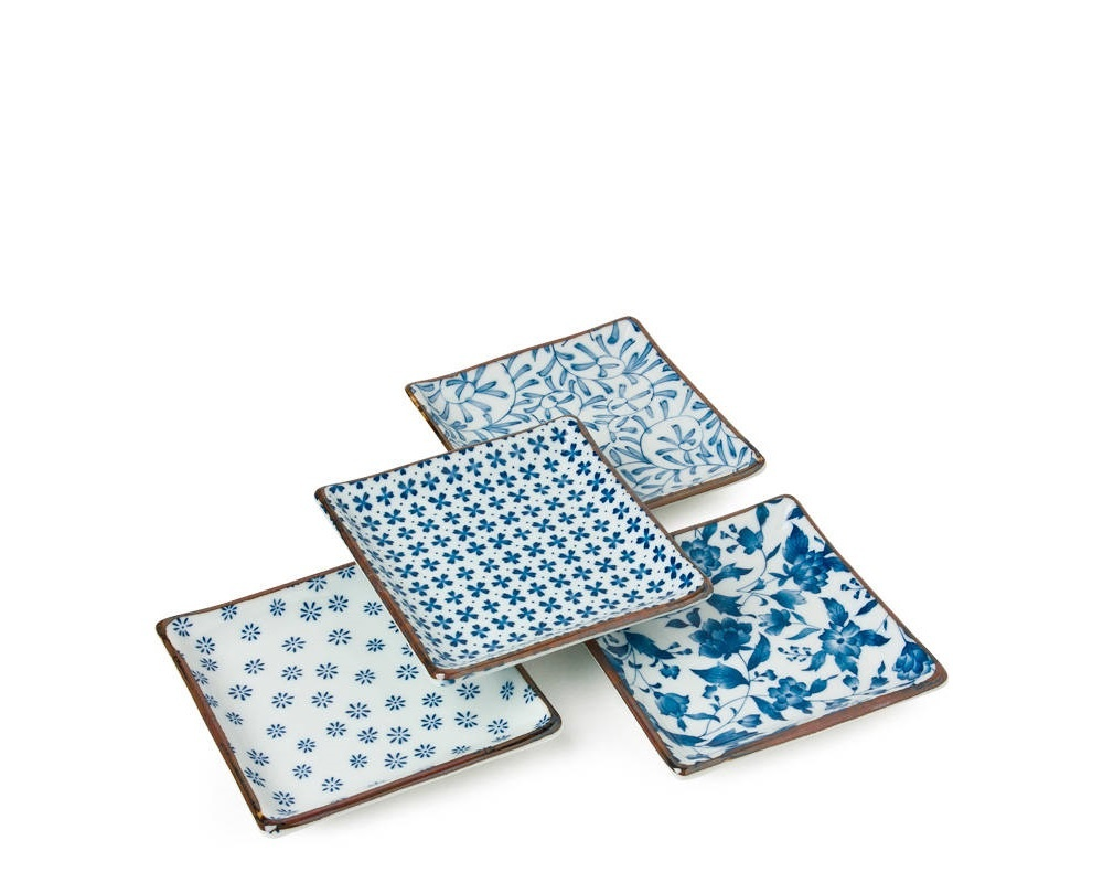 Blue & White - Plate Set-2
