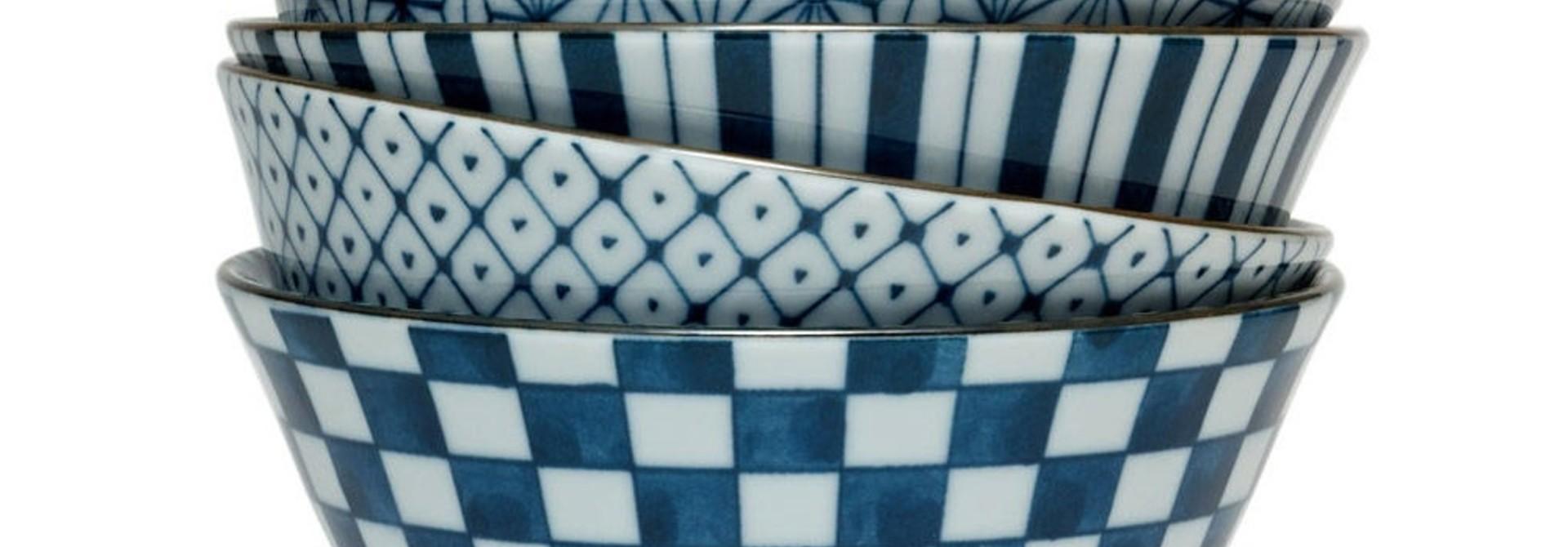 Four Pattern  - Bowl Set