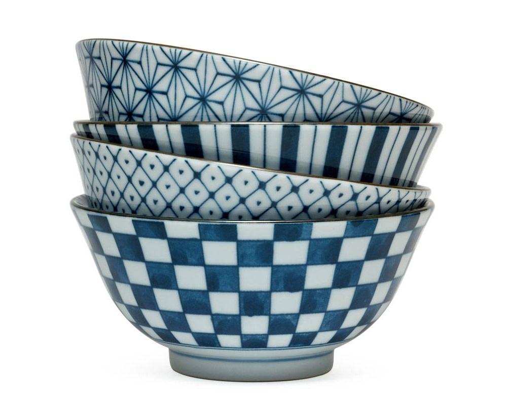Four Pattern  - Bowl Set-1