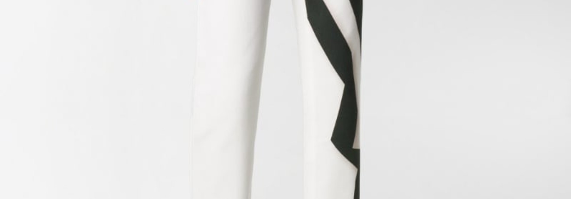Jean - white graphic - Sz 26