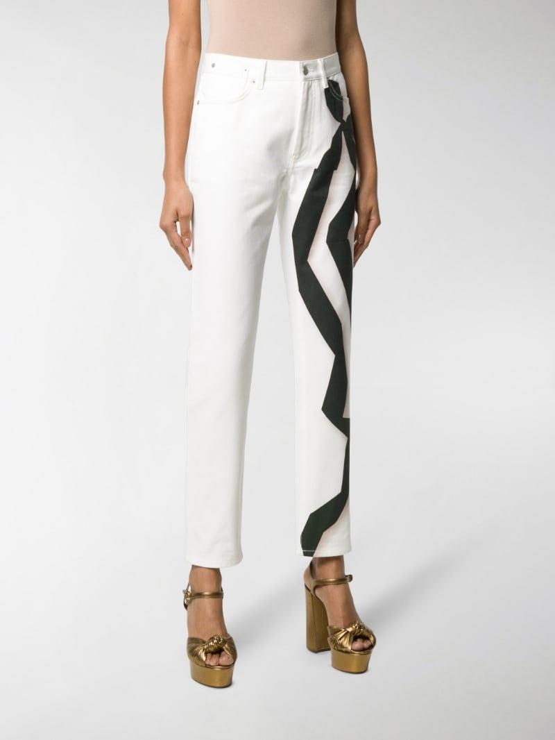 Jean - white graphic - Sz 26-1