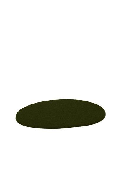 Felt Trivet Stone Medium - Moss