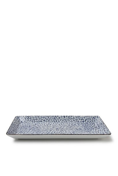 Aizome Mums - Rectangle Plate