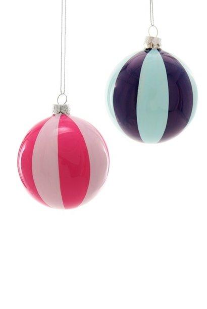 WIDE STRIPE BALL - Pink