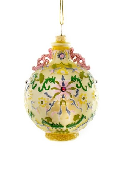 CHINOISERIE VASE-GOLD