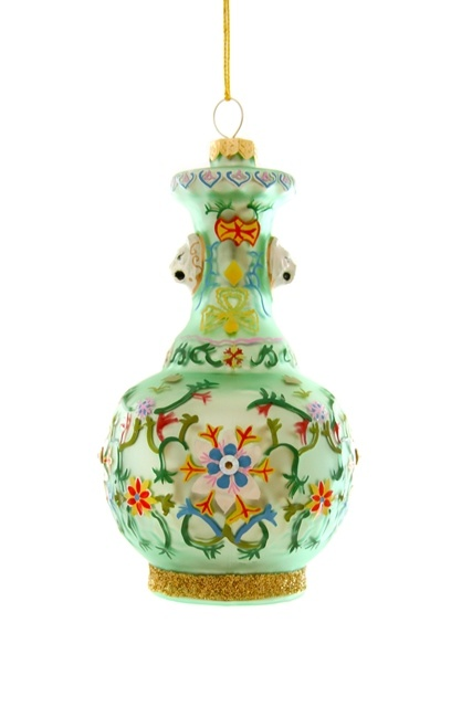 CHINOISERIE VASE-GREEN-1