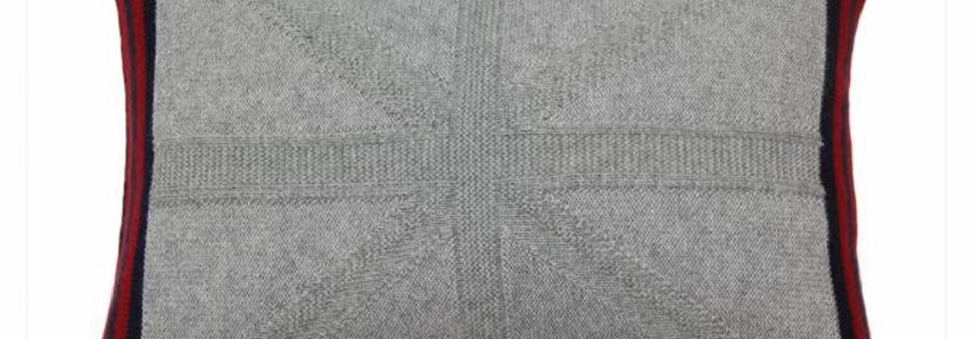 Cashmere Union Jack Cushion