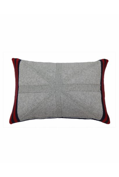 Cashmere Union Jack Cushion