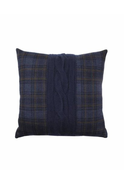 Claridges Cushion - Navy