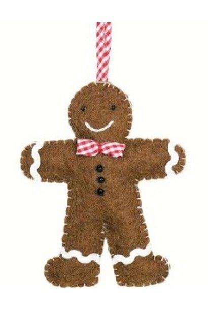 Gingerbread Ornament - Felt