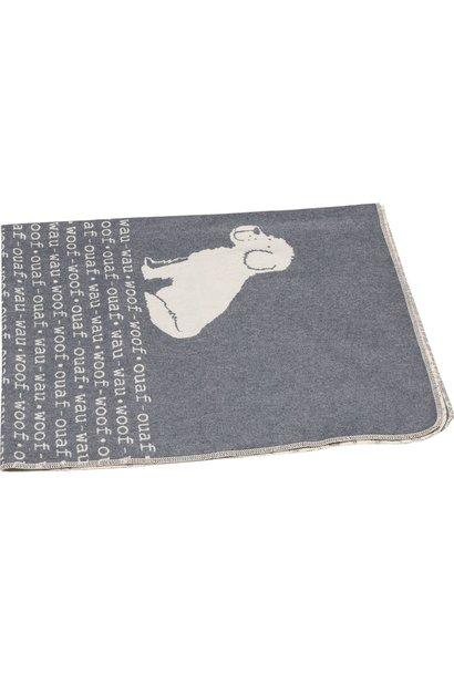 Blanket - Wouf Wouf - Grey