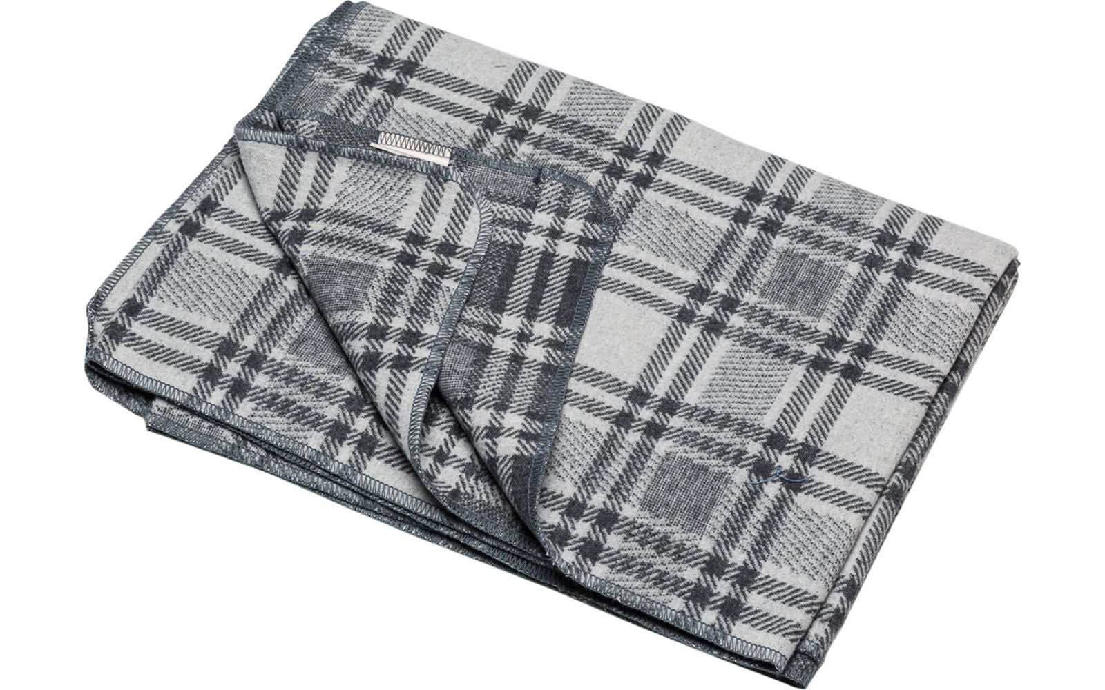 Blanket - Checkered - Charcoal-1