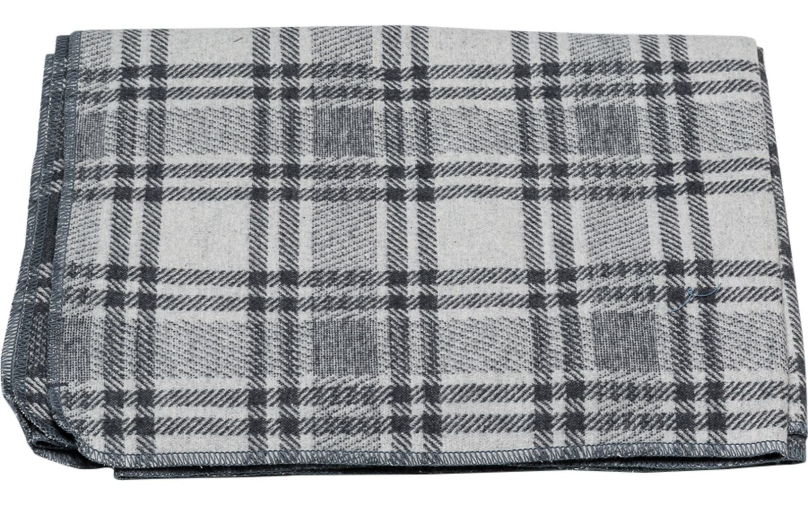 Blanket - Checkered - Charcoal-2