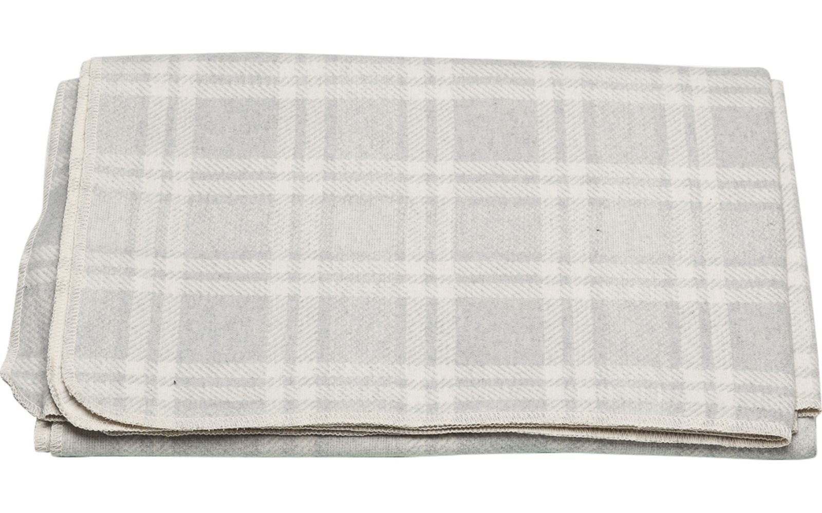 Blanket - Checkered - Light Grey-1