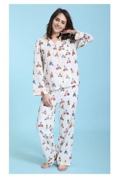 Pyjama - Vespa Squad - 2pc. - Large