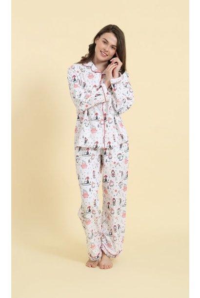Pyjama - Penguins - 2pc. - Large