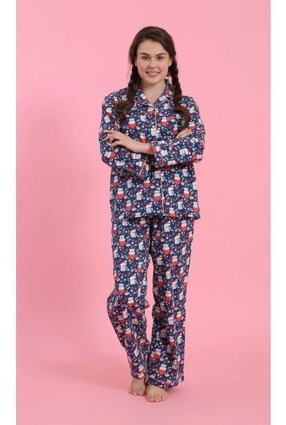 Pyjama - Winter Cats - 2pc. - Small