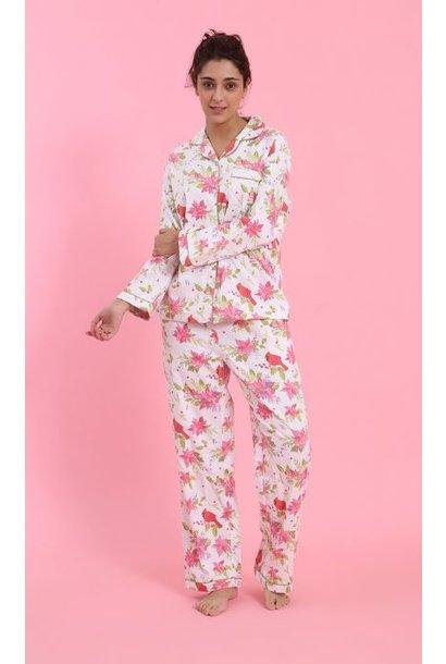 Pyjama - Poinsettia - 2pc. - Medium