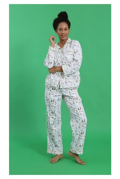 Pyjama - Xmas Morn - 2pc. - Large