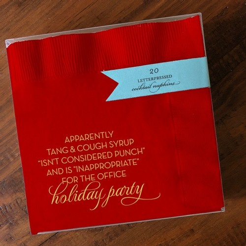 Napkins - Holiday Party-1