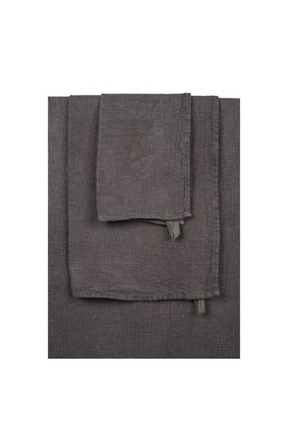 Towel - Guest - Charcoal