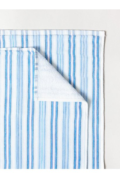 Hand Towel - Stripe - Blues