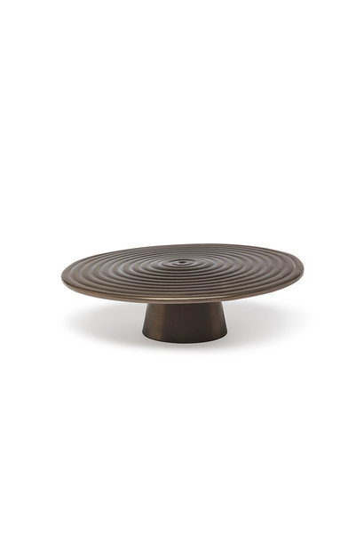 Food/Cake Stand - Platinum  Matt- Large