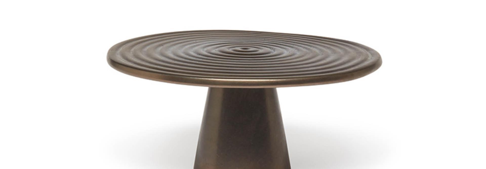 Food/Cake Stand - Platinum  Matt - Medium
