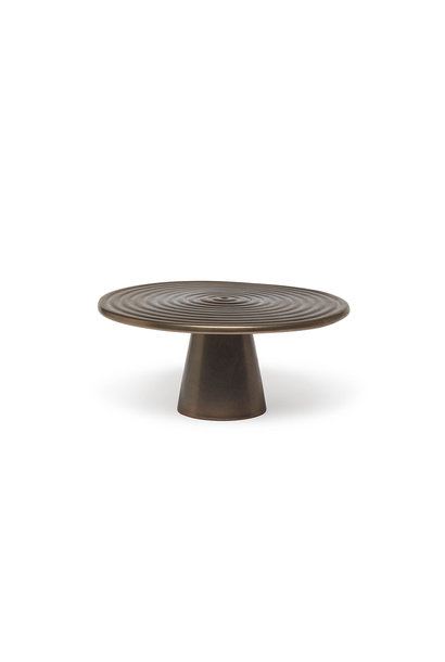 Food/Cake Stand - Platinum  Matt - Medium