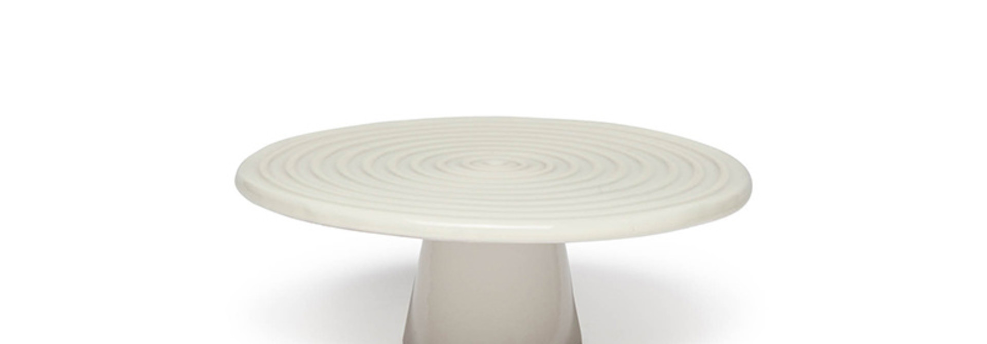 Food/Cake Stand - White - Small