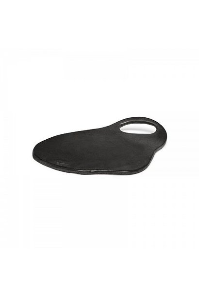 Ceramic Serving Plate - Lola - Blk Matt - Sm