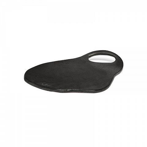 Ceramic Serving Plate - Lola - Blk Matt - Sm-1