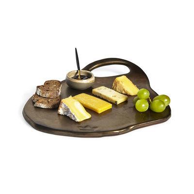Ceramic Serving Plate - Lola - Blk Matt - Sm-2