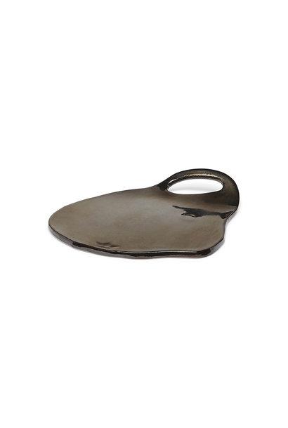 Ceramic Serving Plate - Lola - Platinum - Sm