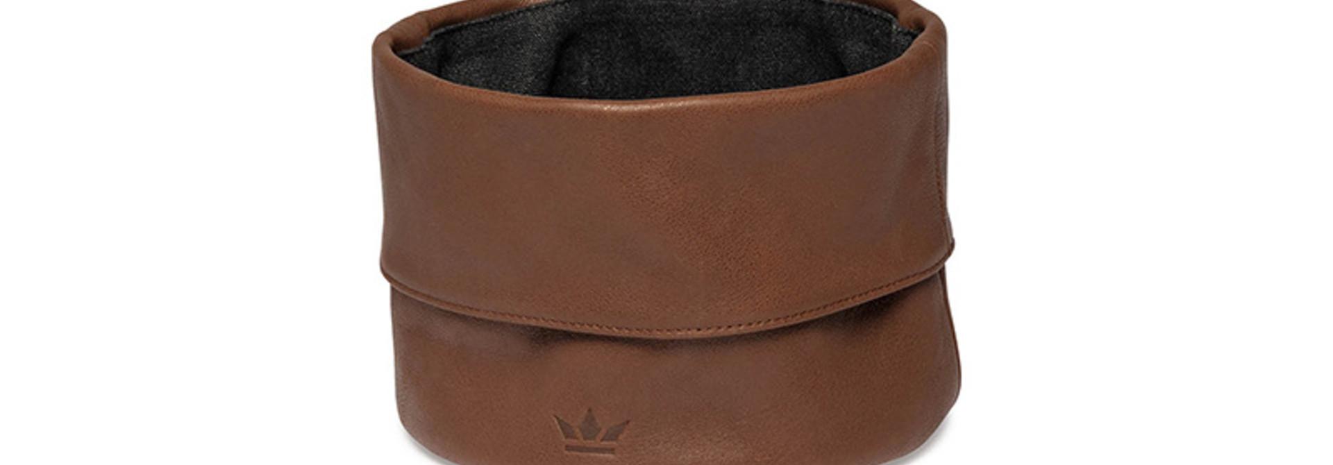 Bread Basket - Ben - Leather - Cognac
