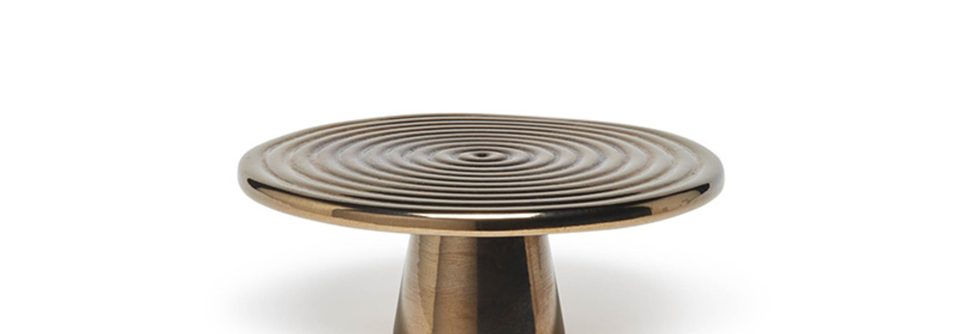 Food/Cake Stand - Platinum - Sm